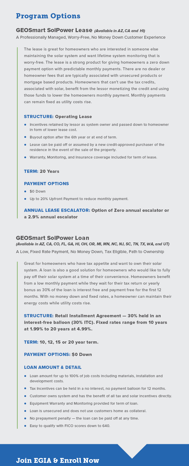 Introducing the new GEOSmart SolPower Program