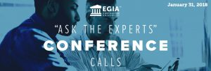 EGIA Ask the Experts Conference Calls - How to Keep the Phone Ringing