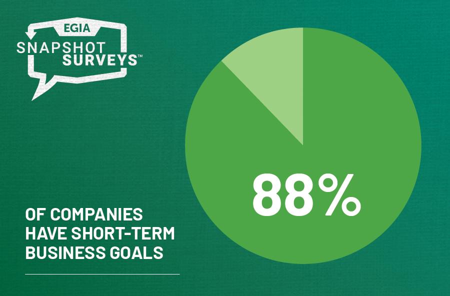 EGIA Snapshot Survey - Short-term Business Goals