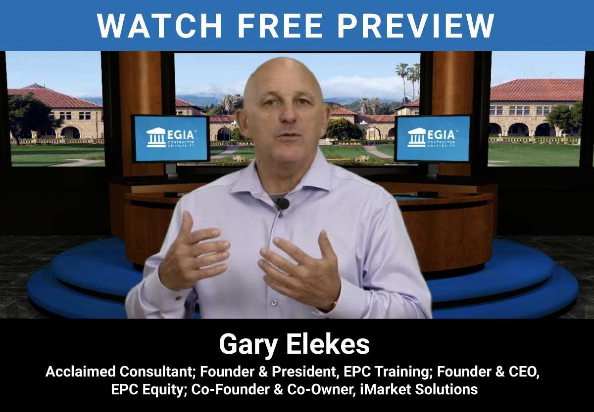 Lead Coordination - Gary Elekes